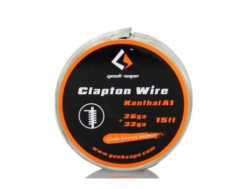 Geekvape Selbstwickler Kanthal A1 Clapton Wickeldraht 26GA - 32GA 15ft