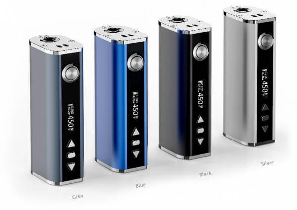 Silver Concept Eleaf iStick TC 40Watt Temperaturgesteuert (auch Sub Ohm) Eco Set 2600 mAh