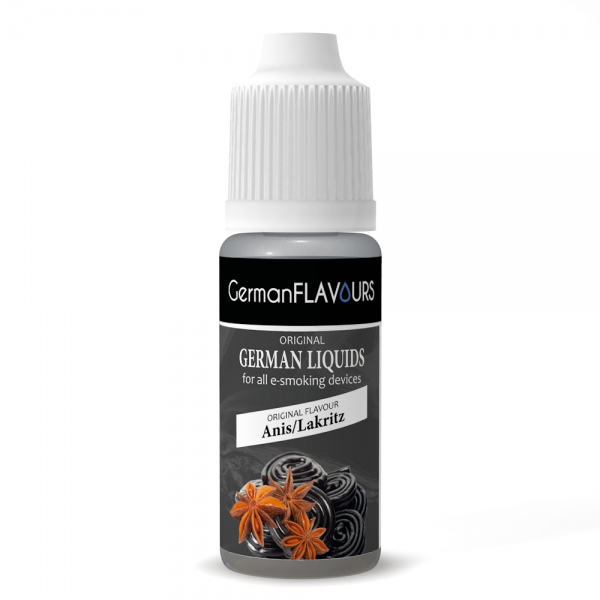 Germanflavours Liquid Anis / Lakritz (Knöterich) Geschmack E-Zigaretten Nachfüll Liquid