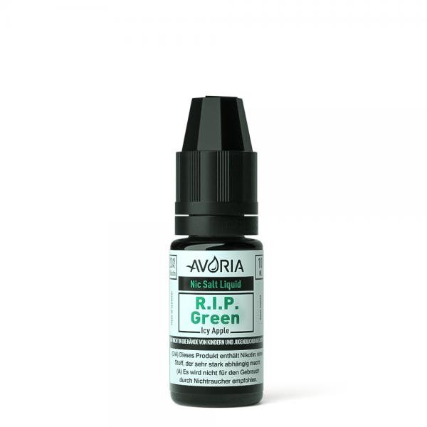 Avoria NIC SALT LIQUID - R.I.P. Green 10ml