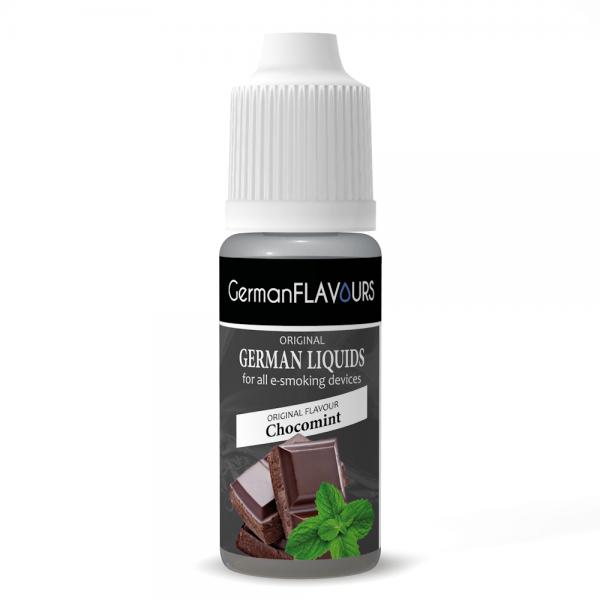 Germanflavours Liquid Chokomint Geschmack E-Zigaretten Nachfüll Liquid