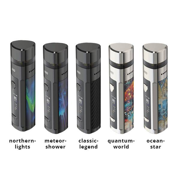 Wismec R80 E-Zigaretten Set mit Wechselakku System