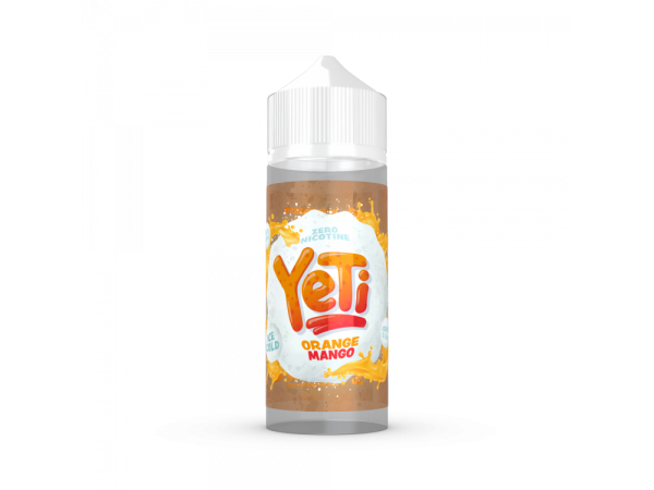 Yeti - Orange Mango - 0mg/ml 100ml