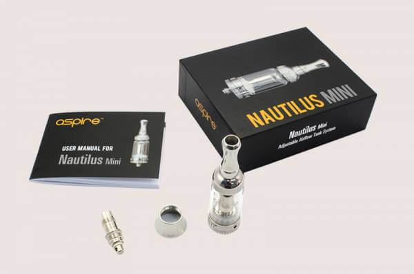 Aspire Nautilus Mini Verdampfer mit 2ml Tank und BVC Technik Clearomizer Set