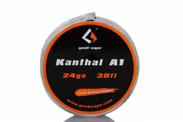 Geekvape Selbstwickler Kanthal A1 Wickeldraht 28GA - 26GA - 24GA