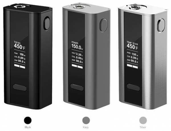 Joyetech Cuboid 150 / 200 Watt 2 Akku Design Box Mod Temperatursteuerung