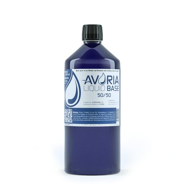 Avoria Liquid Base 50/50 0mg